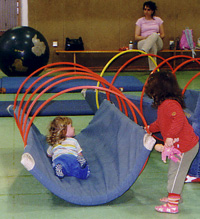 Kinderturnen kennenlernen Muki- und Kinder-Turnen Bern Nord: 1. Lektion Frühling Yakari kennenlernen