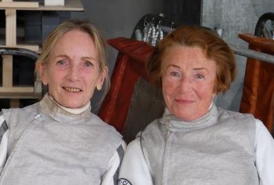 links: Bärbel Gorius, rechts: Eva Schlede